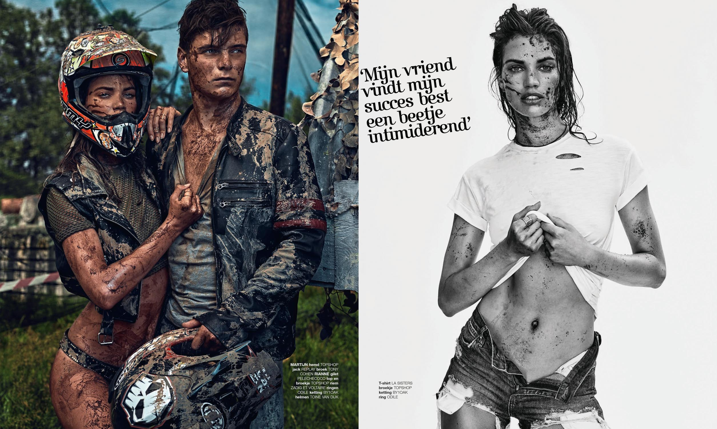 Rianne ten Haken and Martin Garrix for LINDA.MEIDEN by Marc de Groot-06