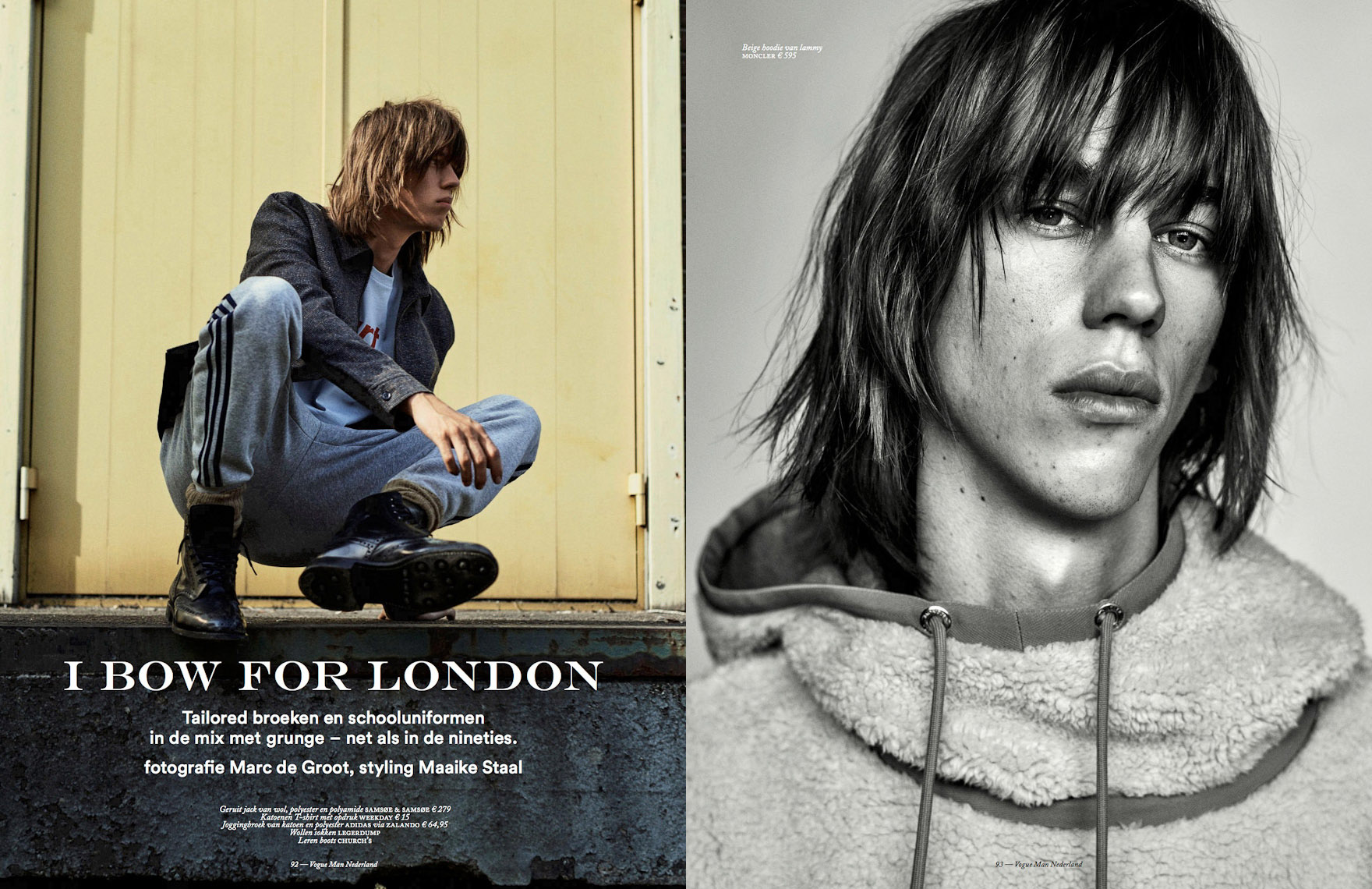 Witman Kleipool | Marc de Groot | Vogue man - I Bow For London - Lay-out01 copy