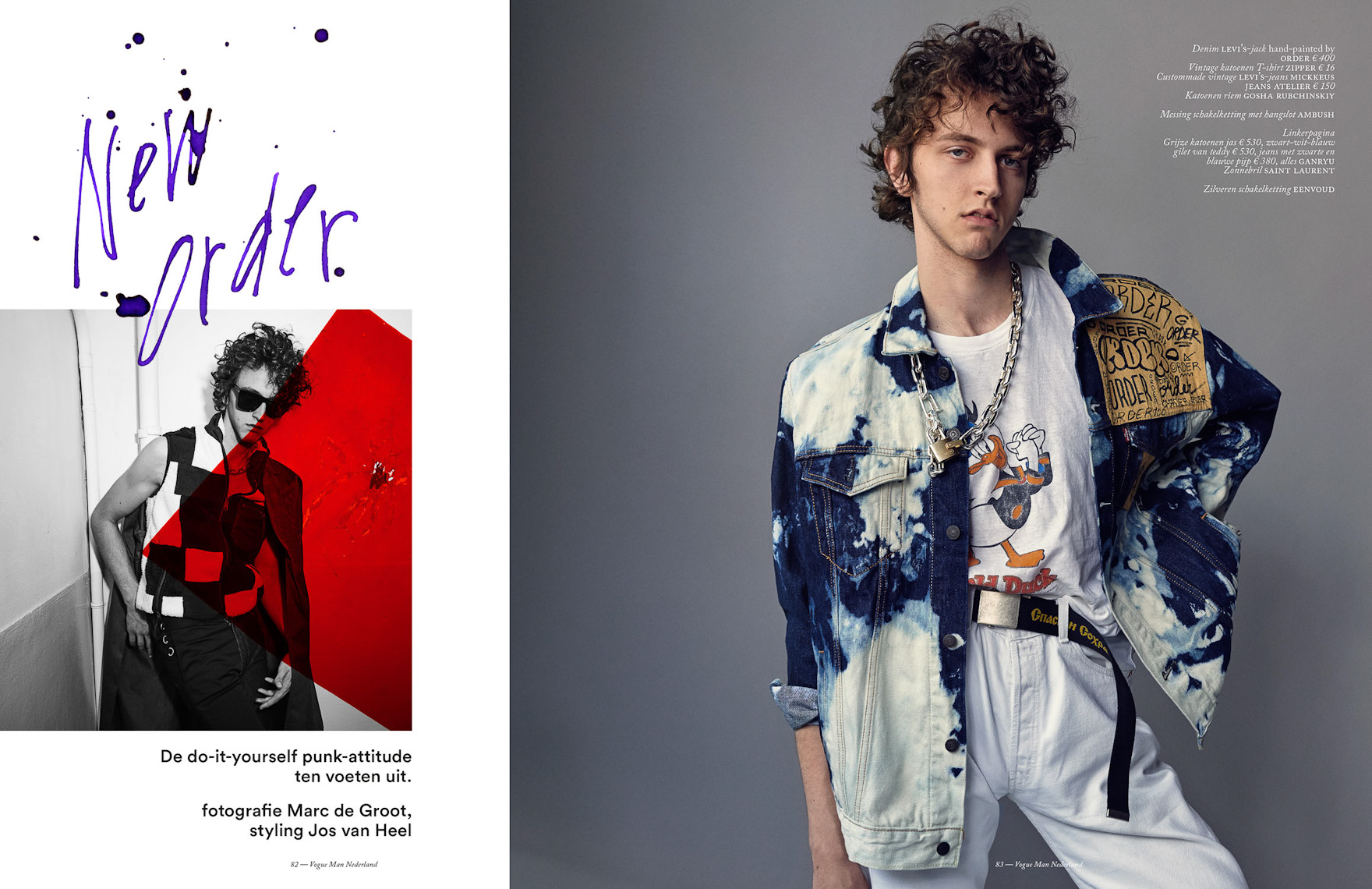 Witman Kleipool | Marc de Groot | Vogue man - Niels Trispels - Spreads - Lay-Out01