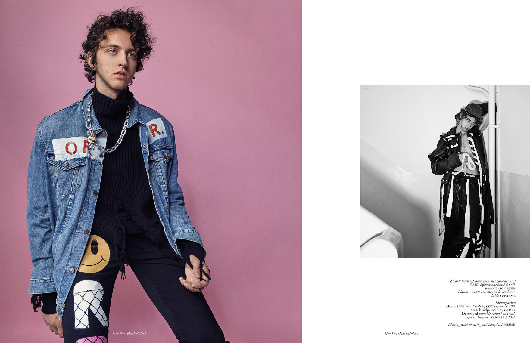 Witman Kleipool | Marc de Groot | Vogue man - Niels Trispels - Spreads - Lay-Out02