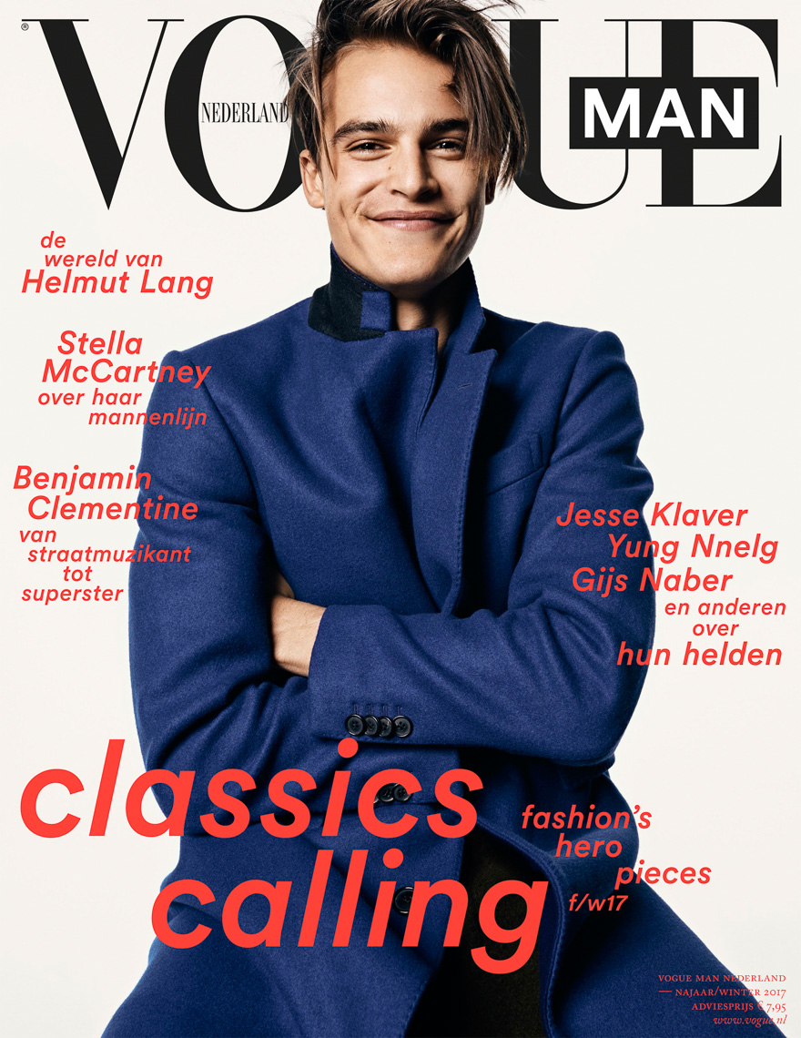 Witman Kleipool | Marc de Groot | Vogue man - Parker en Dani - Cover01